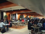 This is known as the Jake's Mall Caf, where all races blend each other